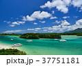 石垣島 川平湾 海の写真 37751181