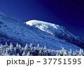 天狗岳 山 青空の写真 37751595