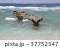 ハートロック 岩 古宇利島の写真 37752347