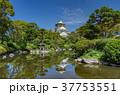 大阪城と日本庭園 37753551