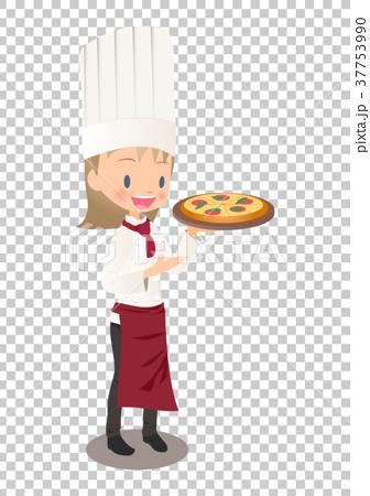 大厨 主厨 披萨 37753990