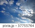 空 青空 雲の写真 37755764