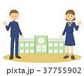 制服と校舎 37755902