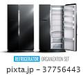 冷蔵庫 冷凍庫 冷房機器のイラスト 37756443