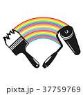刷毛 ローラー 器具のイラスト 37759769