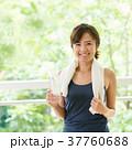 スポーツジム フィットネス 女性 イメージ 37760688
