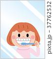 鏡 ベクター 女の子のイラスト 37762532