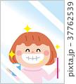 鏡 ベクター 女の子のイラスト 37762539