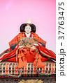 お雛様 雛飾り 女雛の写真 37763475