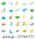 Water procedure icons set, isometric style 37765777