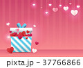 バレンタイン バレンタインデー 背景のイラスト 37766866