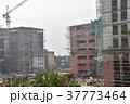 インドの首都、デリー。 建設中のビル 37773464