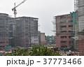 インドの首都、デリー。 建設中のビル 37773466