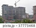 インドの首都、デリー。 建設中のビル 37773468