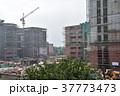 インドの首都、デリー。 建設中のビル 37773473