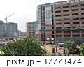 インドの首都、デリー。 建設中のビル 37773474