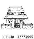 家 住宅 ボロボロのイラスト 37773995