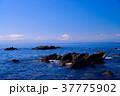 【神奈川県】荒崎海岸から、夕陽富士 37775902