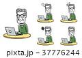 ベクター シニア 表情のイラスト 37776244