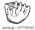 グローブ ボール 水彩画 37776343