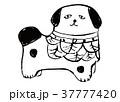 富山土人形 水彩画 37777420