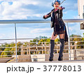 バイオリン ヴァイオリン 女の写真 37778013