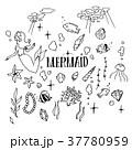 Mermaid Illustration pack 37780959