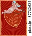ビンテージ ベクター カードのイラスト 37782625