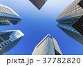 高層ビル ビル 青空の写真 37782820