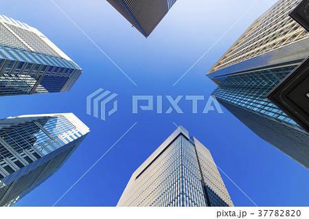 オフィス街の風景 37782820