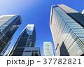 高層ビル ビル 青空の写真 37782821