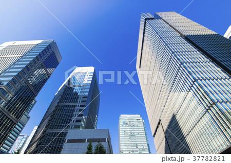 オフィス街の風景 37782821