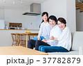 家族 親子 笑顔の写真 37782879