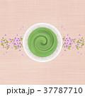 抹茶 桜 春のイラスト 37787710