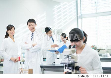 研究室、研究者、実験、病院 37791171