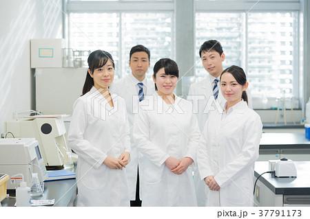 研究室、研究者、実験、病院 37791173