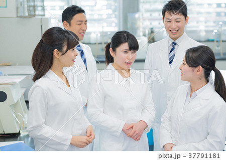 研究室、研究者、実験、病院 37791181
