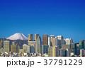 [超明瞭] 富士山と西新宿 37791229