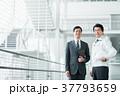 ビジネスマン 作業員 男性の写真 37793659