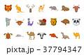 動物 イコン セットのイラスト 37794347