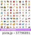 100 100 店舗のイラスト 37796891
