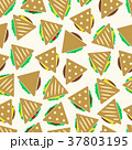tortilla or sandwich tacos seamless pattern eps10 37803195