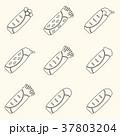set of outline tortilla food icons set eps10 37803204