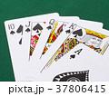 トランプ(ポーカー/ロイヤルストレートフラッシュ) 37806415