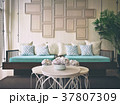 Natural Color Tone Of Empty Living Room 37807309