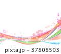 桜 風 春のイラスト 37808503