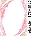 桜 フレーム 枠のイラスト 37808512