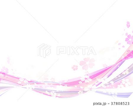 テクスチャー 桜 フレーム 37808523