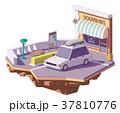 ベクトル 車 自動車のイラスト 37810776