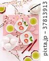 いちご大福 桜 ティータイムの写真 37813913